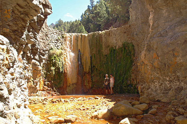 Cascade of colours, La Palma