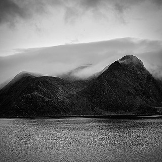 Fog... #fog #blackandwhite #black #white #norway @norge #photoshoot #nikon #d750 #contrast #sea #polar #cold #clouds #mountains #neverstopexploring #follow #followme #follow4follow #norway #explore #igers #picture #photography #photographer | by ReflectionPhotographers