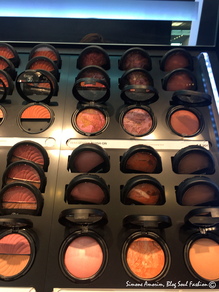 AS lindas tonalidades de cores dos produtos de make up da Flomar. Love it.