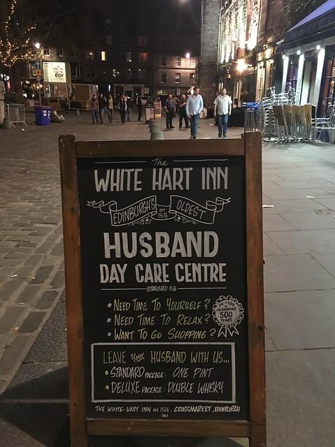 Edinburgh, white hart inn