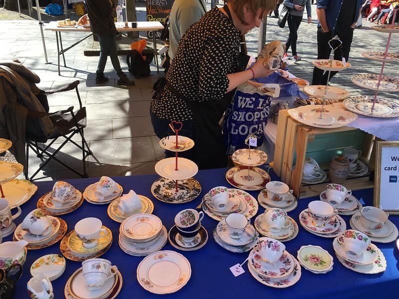 edinburgh 258 Grassmarket,  tea cups