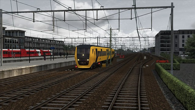 Train Simulator 2017, Station Leeuwarden DM'90 NS