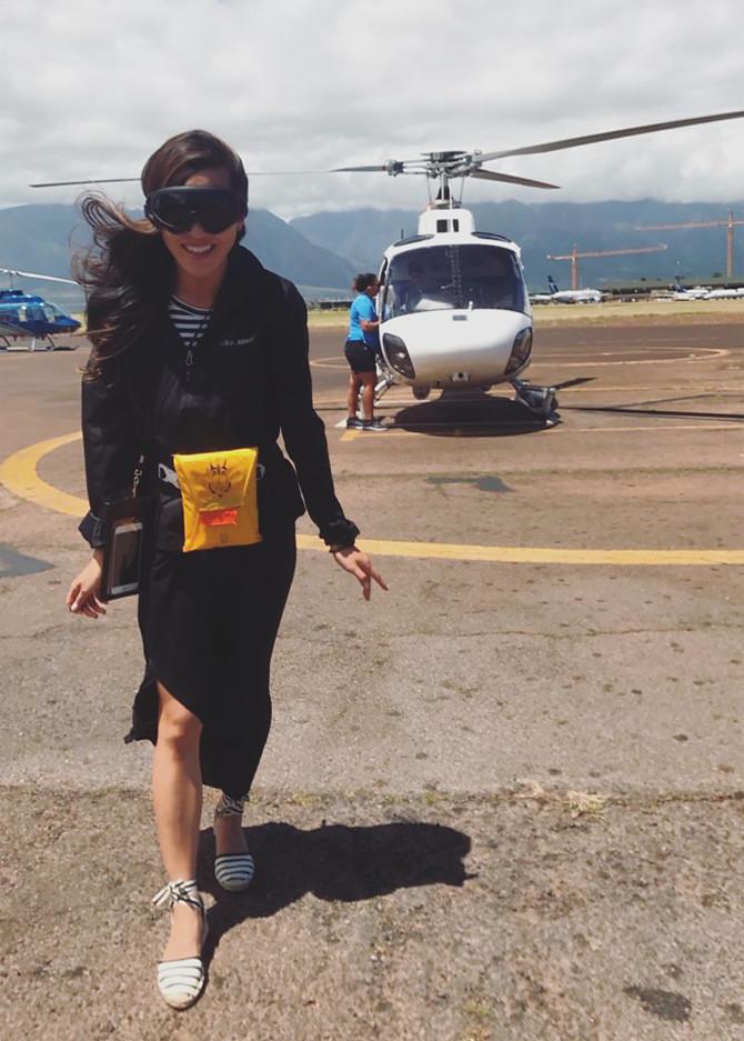 air maui helicopter tour doors off flight gear