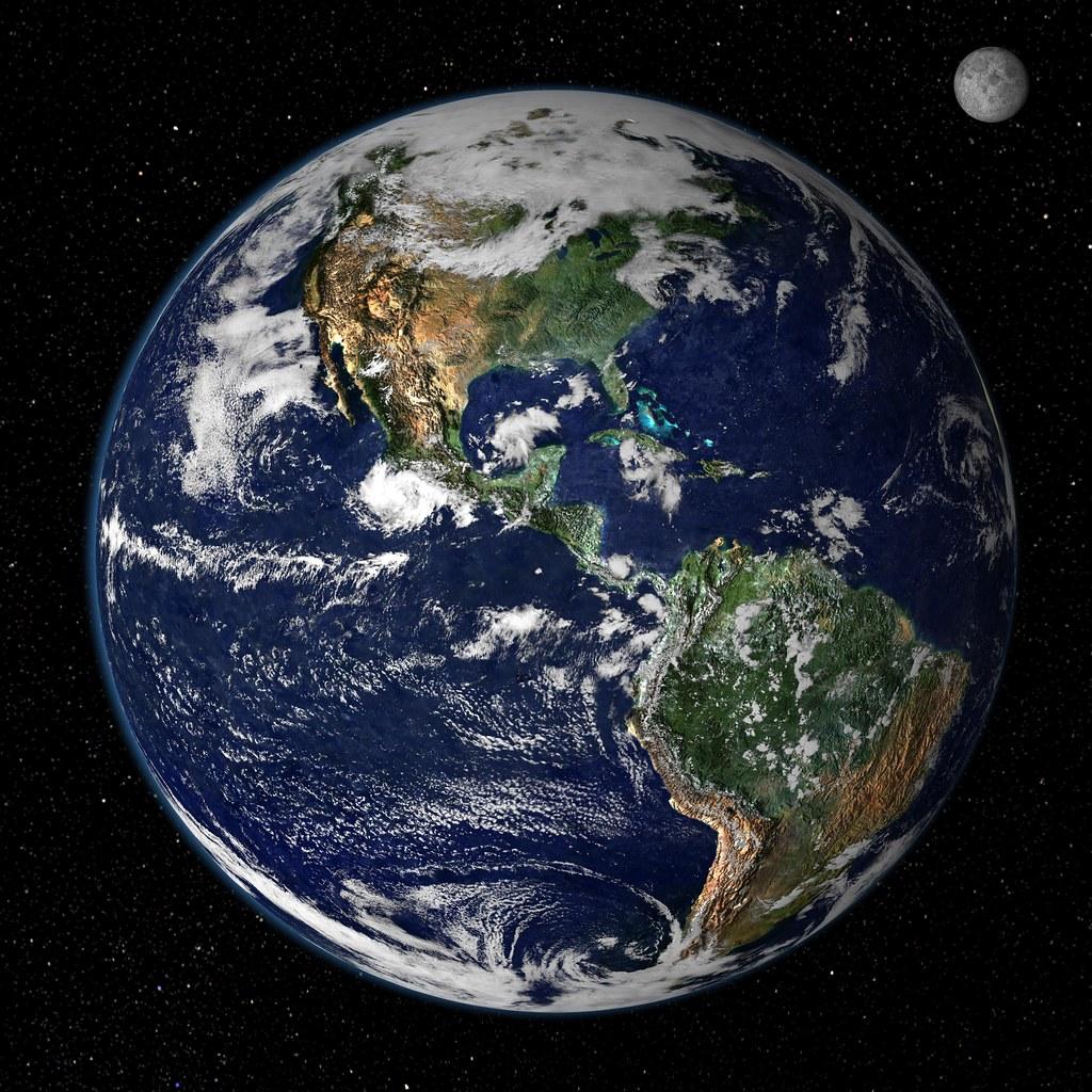 地球。圖片來源:Kevin Spencer(CC BY-NC-ND 2.0)