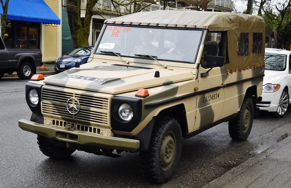 1981 mercedes benz 230 g british captured argentine army for Mercedes benz argentina