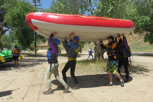 2017-04-09 Kern white water rafting