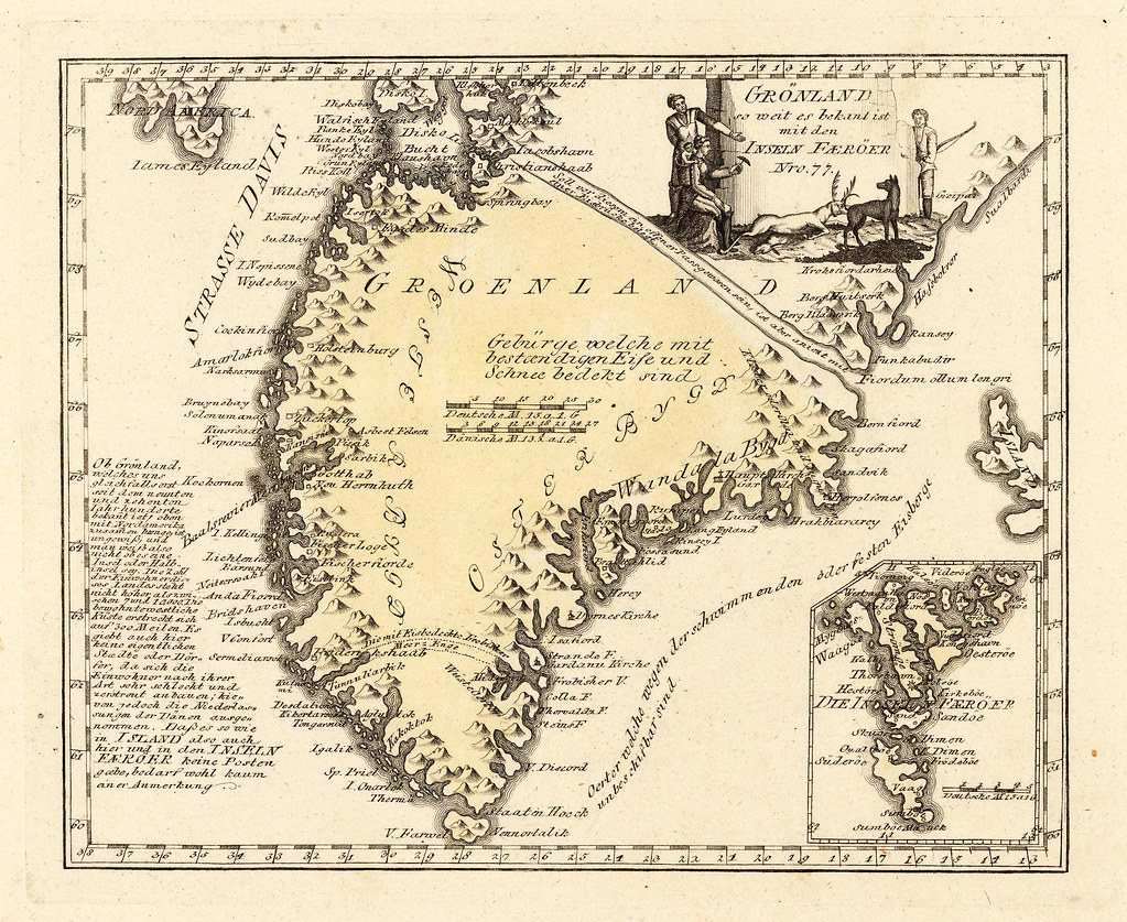 Map of Greenland (1791)