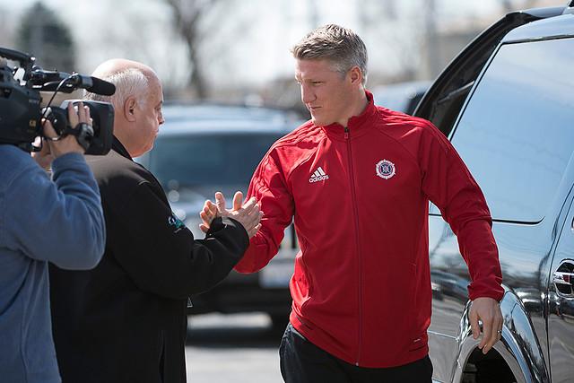 Bastian Schweinsteiger Debuts for Chicago Fire