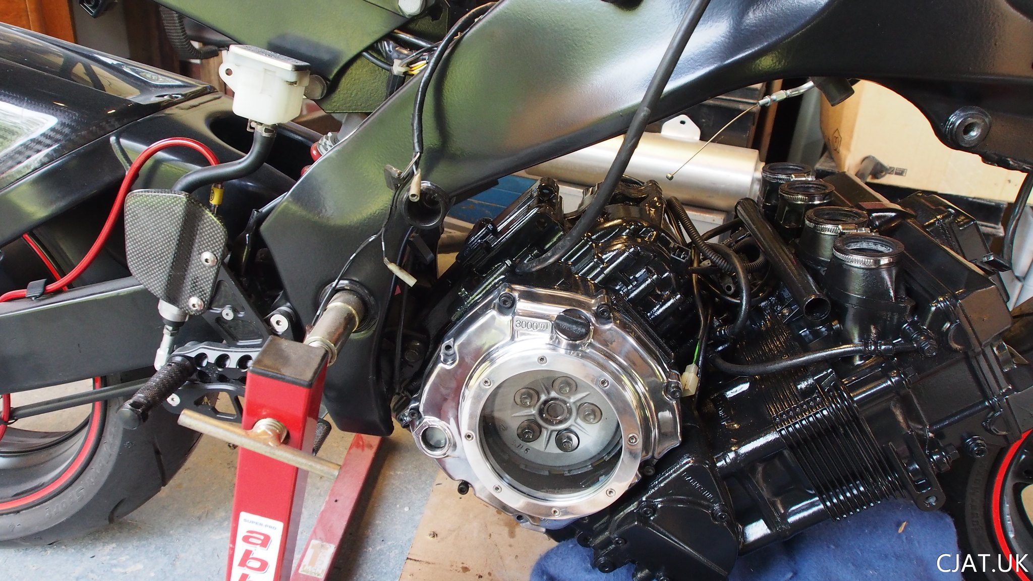 RF900 StreetFighter Project