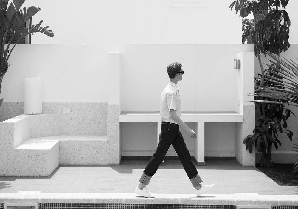 MikkoPuttonen_VillasDeLaMarina_Lanzarote_Travel_diary_balenciaga_Celine_weekday_Fashion_outfit_blogger_JilSander5_bw_web