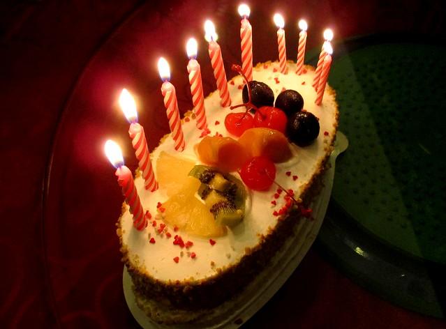 Birthday cake from WeLove