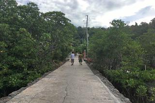 Sibale island - Poblacion walks