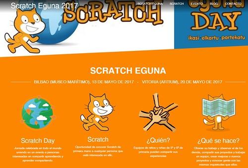#ScratchEguna 2017 en Bilbao y Gasteiz