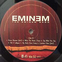 EMINEM:THE EMINEM SHOW(LABEL SIDE-D)