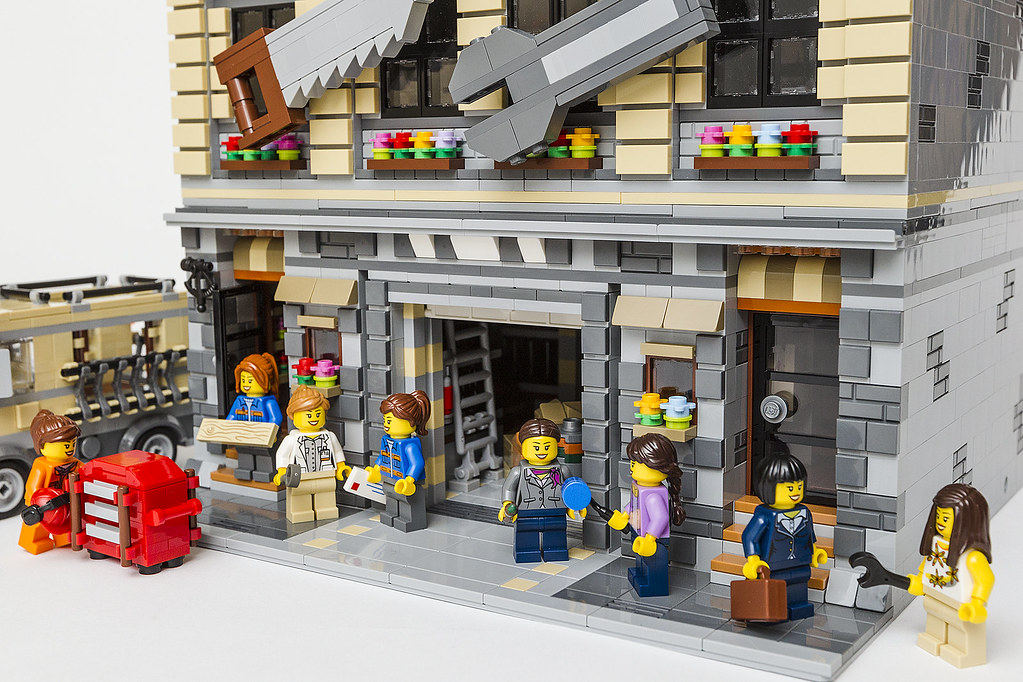 Moc Modular Town Hardware Lego Town Eurobricks Forums
