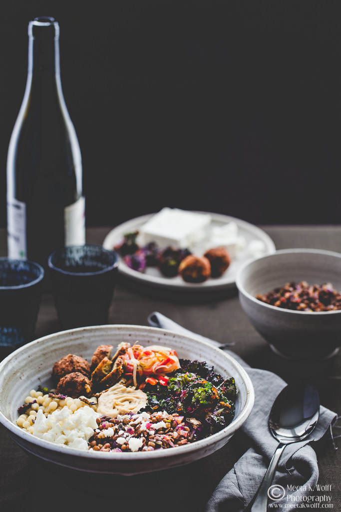 Buddha Bowl-Lentils Falafel GiantCouscous Kalettes Hummus-by Meeta K. Wolff-0027