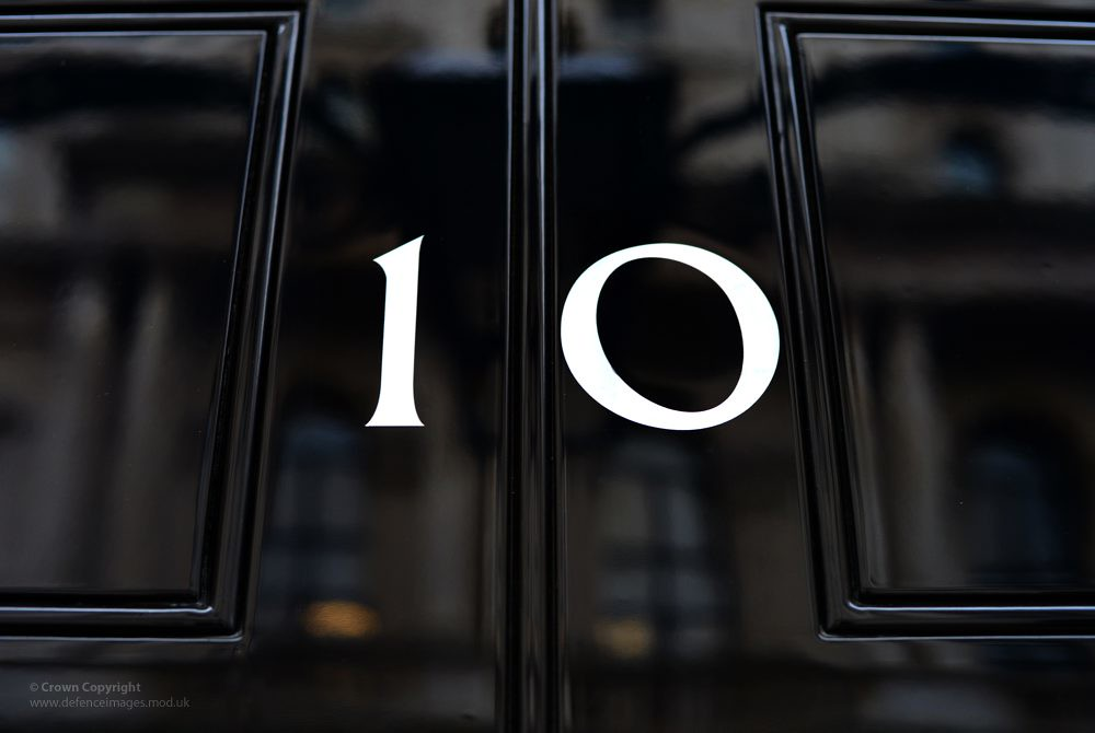 Number10 Downing Street | The number10 on the door of the ...