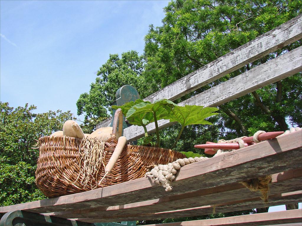 Le Jardin Des Plantes Le Voyage Nantes Le Banc Geant D Flickr