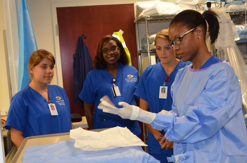 Cardiac Electrophysiology - Donning Sterile Gloves & Gown   Flickr