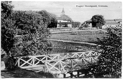 OSLO Frognerparken KRISTIANIA Postkort 116 Frogner Hovedgård.