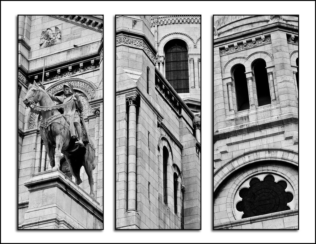 Triptych Photography Flickr Sacre Coeur Triptych Flickr