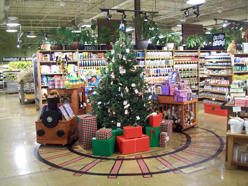 Whole Foods Christmas Display | Christmas display at Whole F… | Flickr