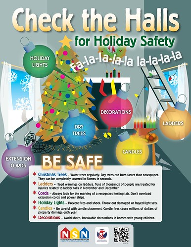 Check The Halls For Holiday Safety Holiday Christmas