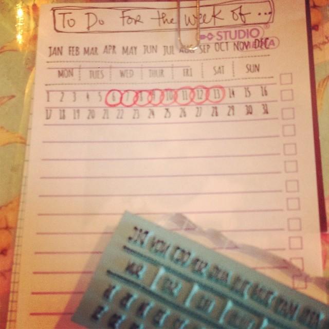 A Perpetual Calendar To Stamp
