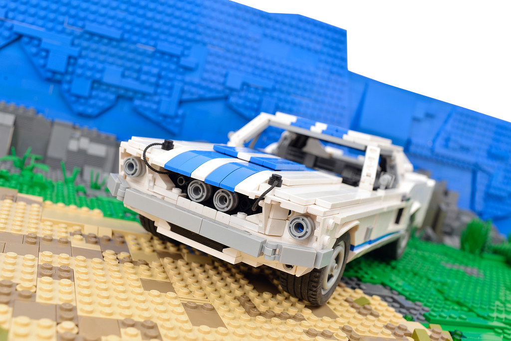ford mustang in lego 1967