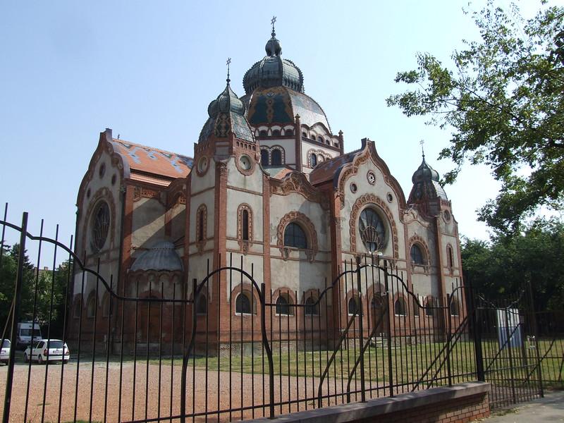 Synagogue in Subotica, SERBIA