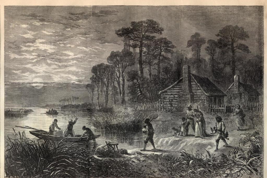 Runaway Slaves Harper S Weekly April 9 1864 Public