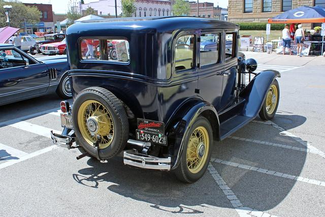 1930 chevrolet 4 door sedan 2 of 2 photographed at the for 1930 chevrolet 4 door sedan