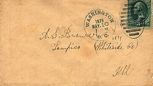 Losenge Hand Cancellations on U. S. Postal Covers and Cards