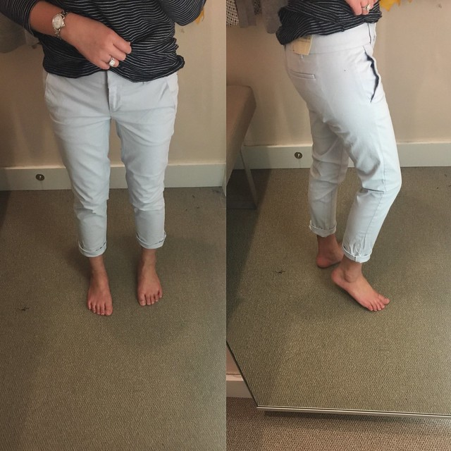 LOFT Cropped Skinny Chinos, size 0P