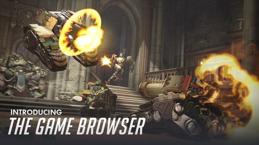 Overwatch Game Browser
