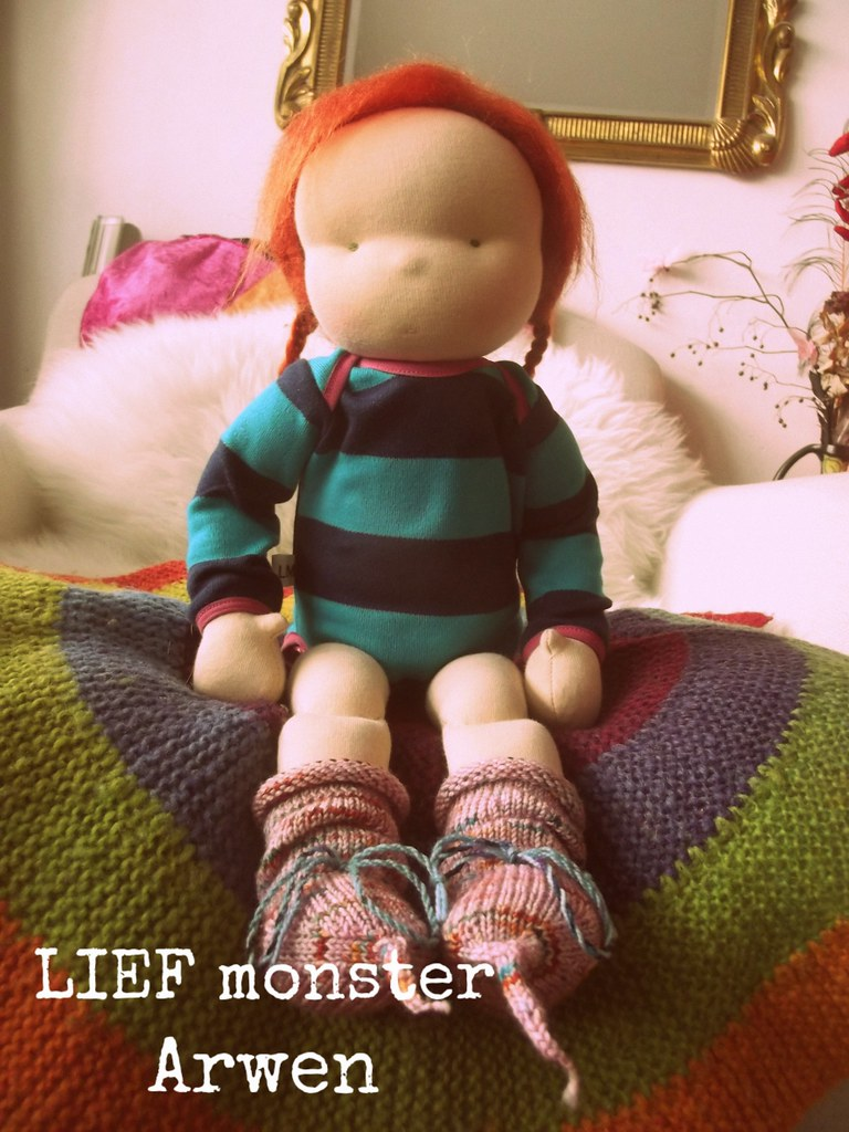 Arwen, an 16 inch LIEF monster toddler doll