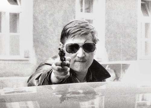 Rainer Werner Fassbinder in Liebe ist kälter als der Tod (1969)