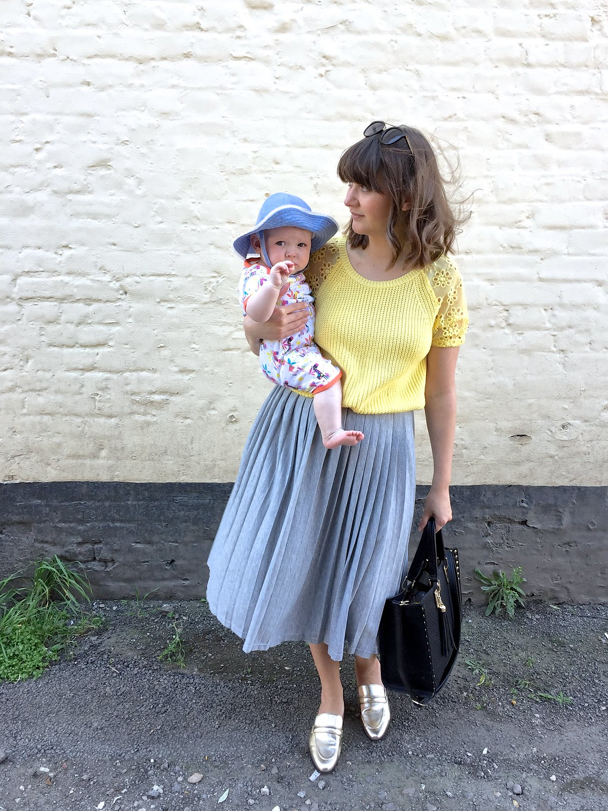 mummy and baby style post