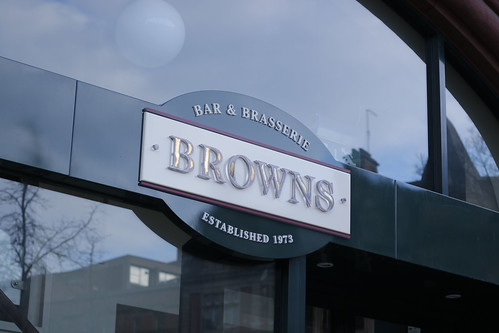 Browns Sheffield Sign