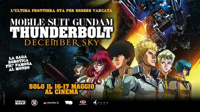 Mobile Suit Gundam Thunderbolt December Sky - Italy