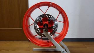 KTM 690 Duke R rear wheel