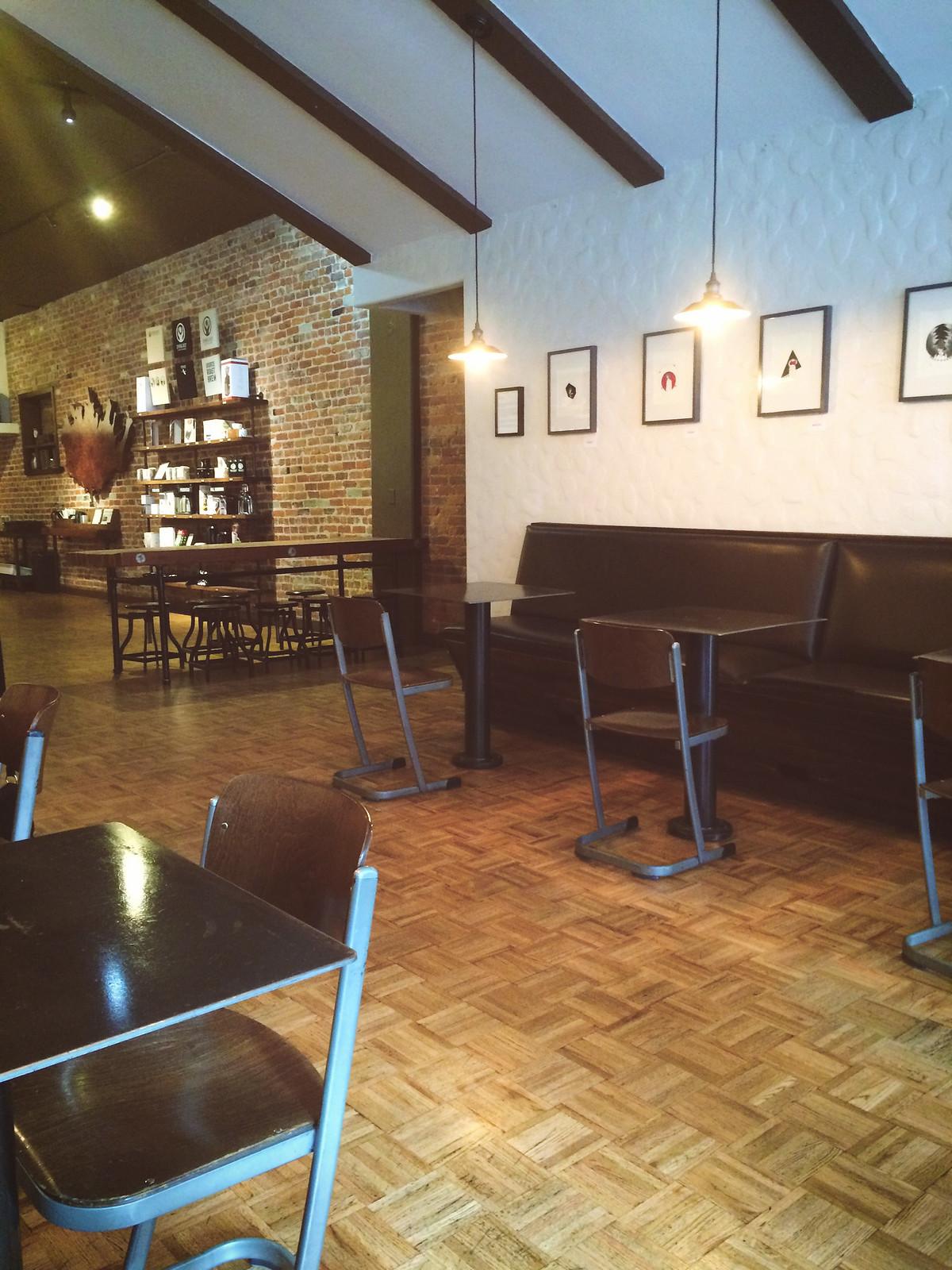 Insight Coffee Interior Artwork