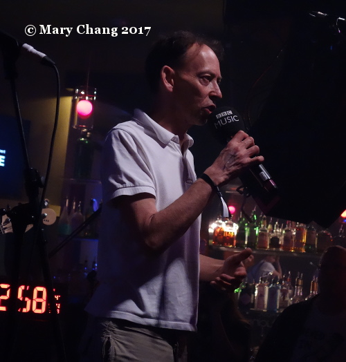 Steve Lamacq, UK Department of International Trade showcase, British Music Embassy, Latitude 30, Saturday 18 March 2017