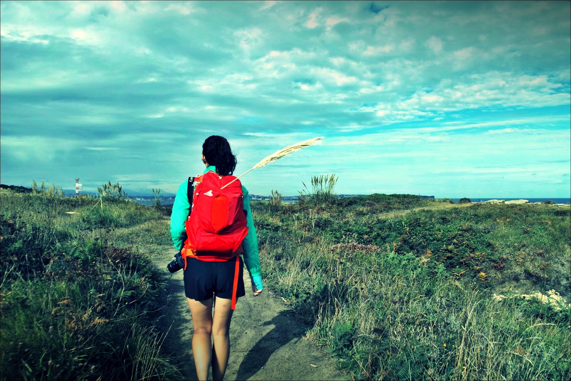 도보여행자-'카미노 데 산티아고 북쪽길. 궤메스에서 산탄데르. (Camino del Norte - Güemes to Santander)'
