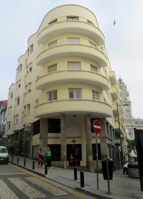 Art Deco Corner Aspect, Porto