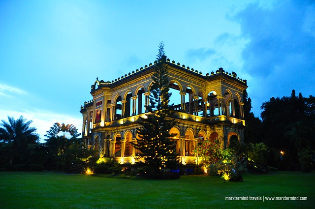 The Ruins at Talisay during Blue Hour