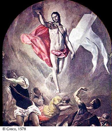 Resurrección - El Greco, 1578