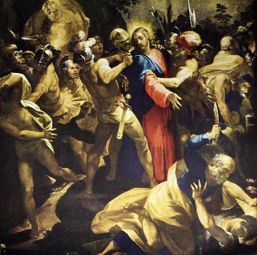 Christ Captured in the Garden by Giuseppi Cesari