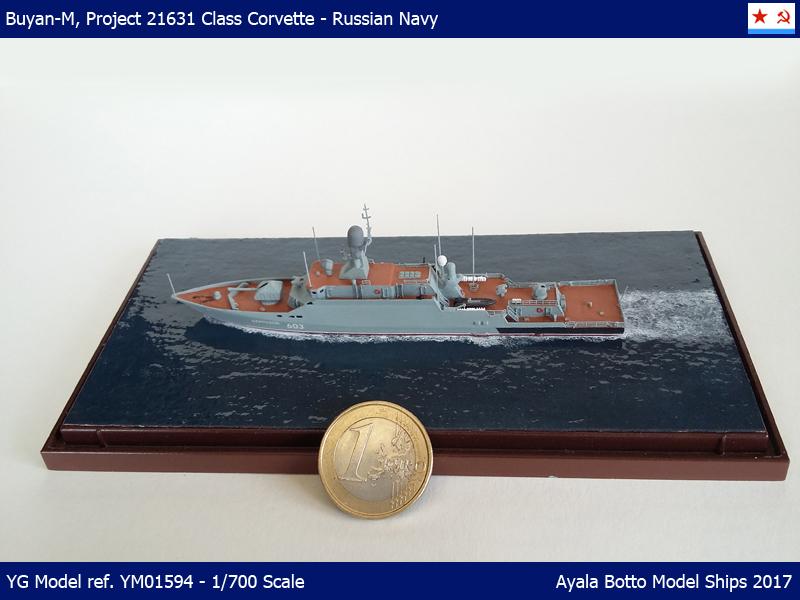 Corvette Buyan-M, Projet 21631 Marine Russe YG Model 1/700 34101866682_04d962a8cb_o