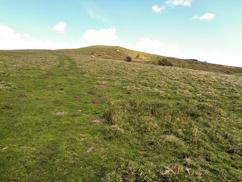 Walking up Wath Hill